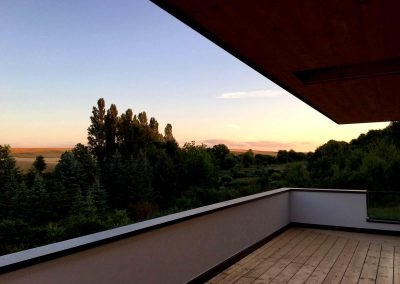 Balkon inkl. Glasbrüstung