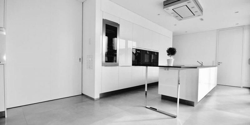 Schiebetür XXL und Küche – GERBER Ingenieure GmbH