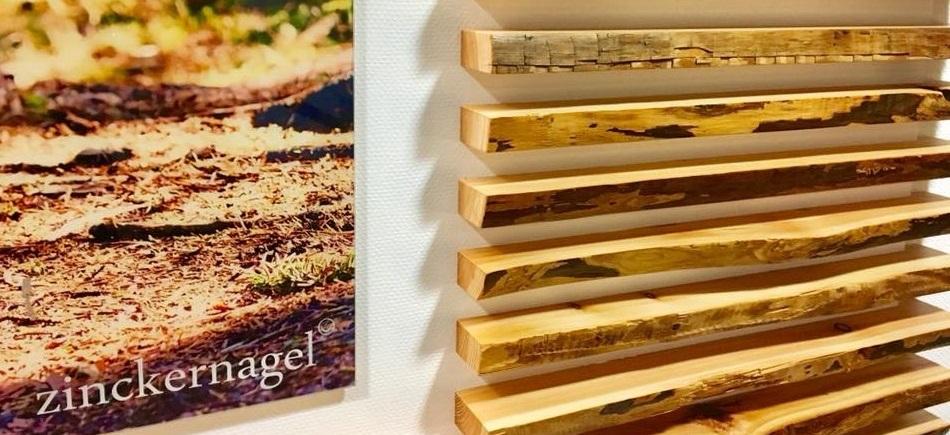 Holzverkleidung Trainingsstudio zinckernagel