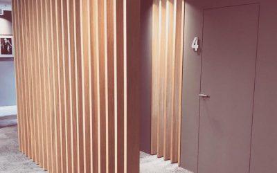 Raumteiler oder Designelement? Wand oder Tür?